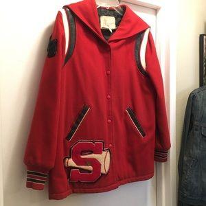 Vintage 1970's varsity jacket